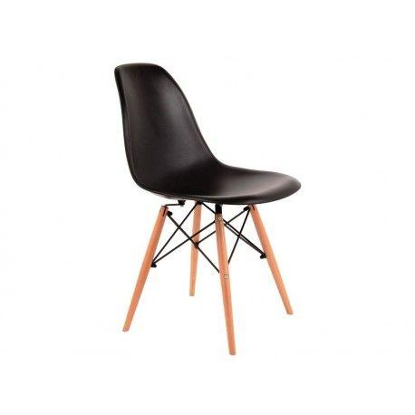 Krzeslo Orso Czarny Eames Chair Chair Home Decor