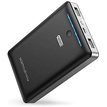 Amazon Com Ravpower Portable Charger 22000mah External Battery Pack 22000 Power Banks 5 8a Output 3 Port 2 4a I Powerbank Cell Phone Charger Portable Charger