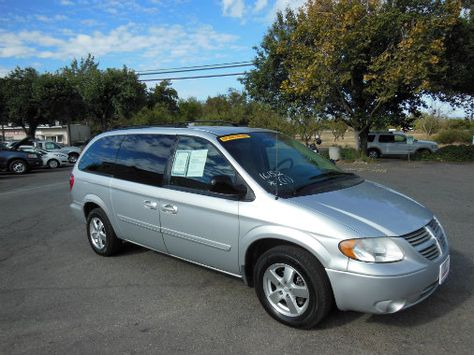 Come To Chico For A Great Used Van Like This 2007 Dodge Grand