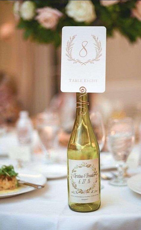 Segnaposto Matrimonio Bottiglia.Matrimonio A Tema Vino Decorazioni E Addobbi Matrimonio A Tema