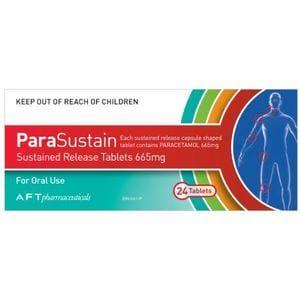 Parasustain مسكن للآلام وخافض للحرارة Life Personal Care Healthy Life