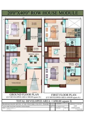 Home Inspiration Captivating West Facing House Plan 40 60