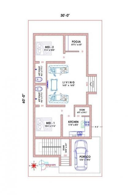 Bathroom Design Layout Floor Plans Tiny House 27 Ideas House Bathroom 2bhk House Plan Four Bedroom House Plans Budget House Plans