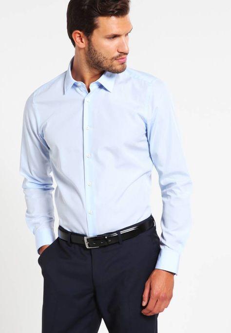 JOOP! PIERRE SLIM FIT  - Camisa elegante - light blue/azul claro - Zalando.es