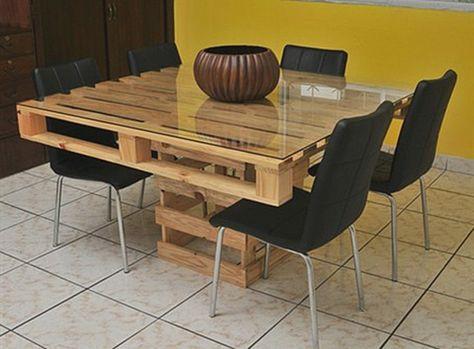 Un meuble en palette - beaucoup des possibilitées ...