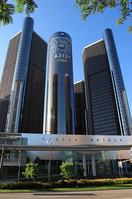 Detroit Wikipedia The Renaissance Center Is The Headquarters