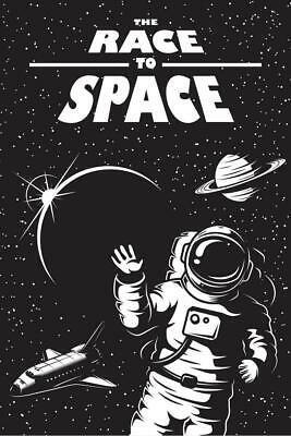 175x115cm Giant Art poster Papier peint space cow-boy astronaute chez réparation ISS