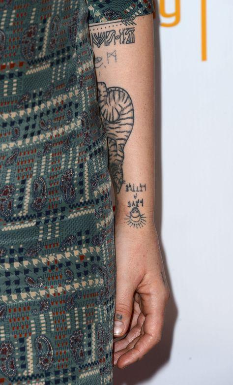 Jemima Kirke Tattoos