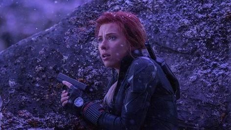 Natasha Romanoff Black Widow Avengers Endgame