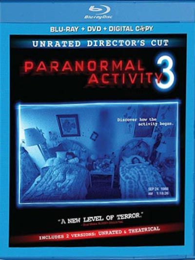 Paranormal Activity 3 Rated Unrated Blu Ray Dvd Paranormal
