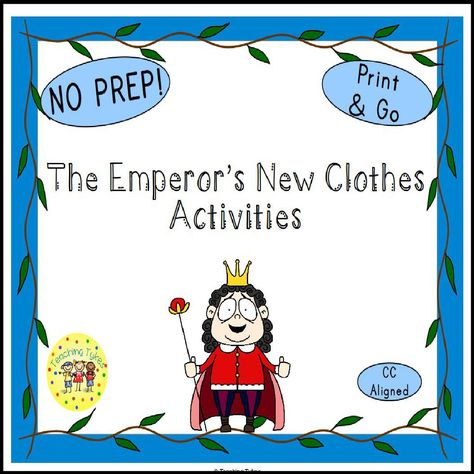The Emperor's New Clothes Activities #TheEmperor'sNewClothes #FairyTales #TheEmperor'sNewClothes Activities #FairyTalesActivities