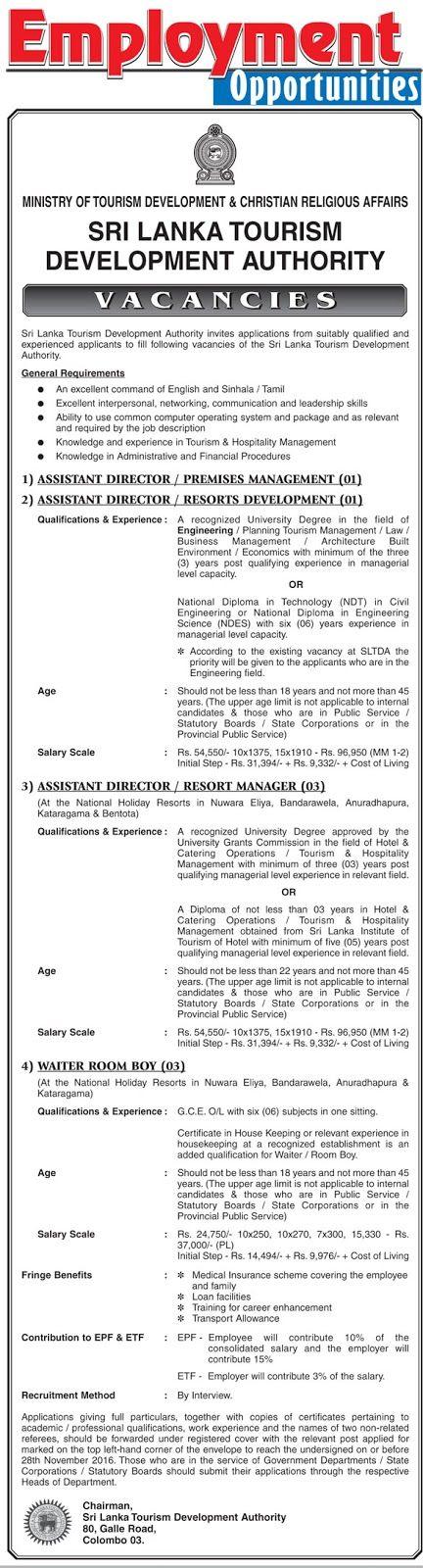 Director Human Resources Job in Punjab Tourism Development - development director job description