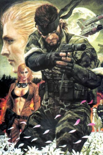 """Metal Gear Solid Magnet ( 2""""x 3"""" ) Refrigerator MAGNET #kitchen #home #collectibles #decor"""
