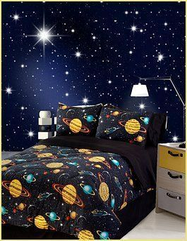 Cool And Attractive Space Theme Room For Boys And Girls Tween Teenagers Ideas Teens Beautiful Pre In 2020 Outer Space Bedroom Space Themed Bedroom Bedroom Themes