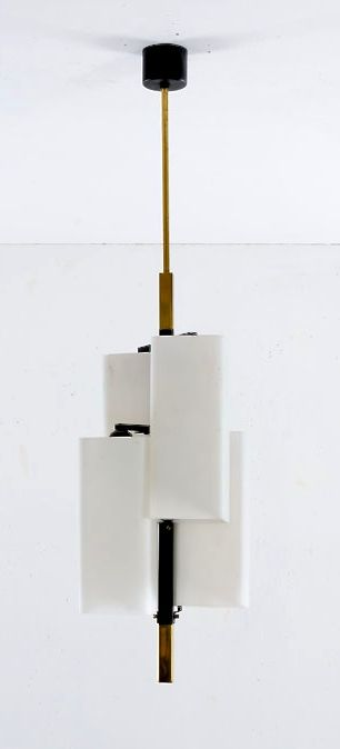 Anonymous; Ceiling Light by Stilux, 1950s.