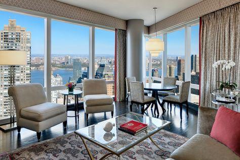 Mandarin Executive Suite Living Room At Mandarin Oriental New York Por Mandarin Ori Luxury Accommodation Mandarin Oriental Mandarin Oriental Hotel