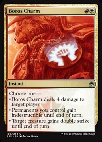 Boros Charm X4 Magic The Gathering 4x Masters 25 Mtg Card Lot