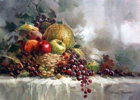 Remzi Taskiran Sanat Meyve Ve Naturmort
