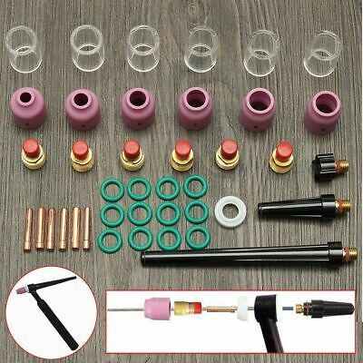 40pcs TIG Welding Heat Cup Gas Lens Collets Consumable Supplies For WP-9//20//25