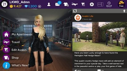 скачать игру avakin life на андроид мод много денег