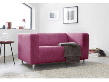 Inosign 2 Sitzer Tuba In Moderner Kubischer Form Rosa Pink 2er Sofa Sofas Wohnen