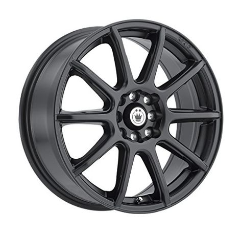 17 x 7. inches //5 x 100 mm, 38 mm Offset Vision 425 Bane Gunmetal Wheel with Painted Finish