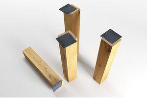 Tischbeine Holz Tinn Eiche Einzeln Tischbeine Holz Tischbeine