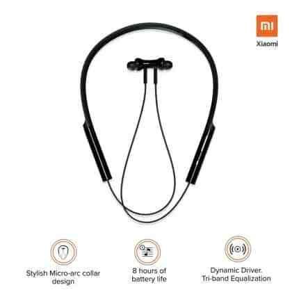 Mi Neckband Bluetooth Earphone In 2020 Bluetooth Earphones Earphone Earbuds