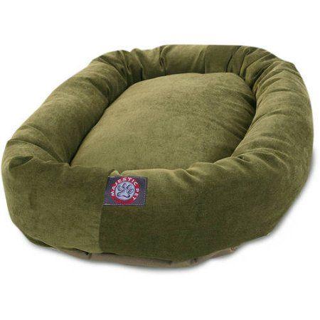 Pets Dog Bed Bagel Dog Bolster Dog Bed