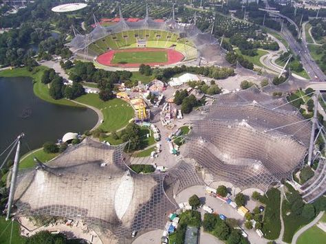 Where to see truly great Olympic architecture - Munich not London!