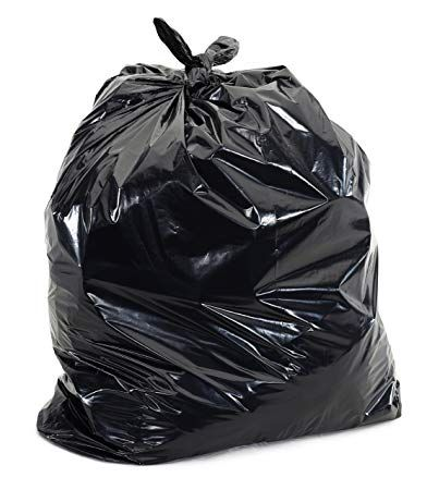 Black Garbage Bags 15x9x23 8 Gallons 500 Case 1 2 Mil Review Rubbish Bag Garbage Bags Garbage Bag