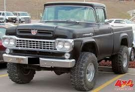 1958 Ford F100 4x4
