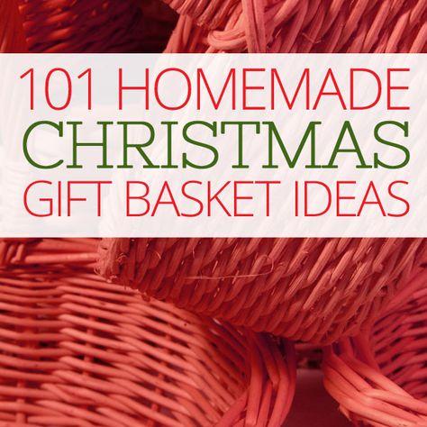 Homemade gift ideas for all on pinterest homemade gifts for Homemade christmas gift basket ideas