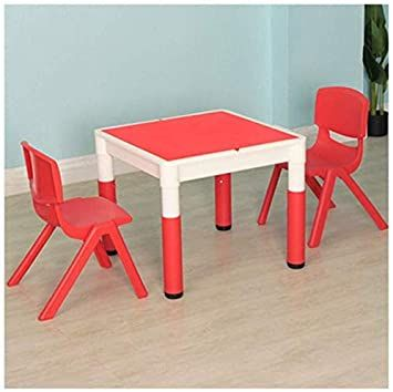 Jn Children S Study Desk Toddler Tables Chairs Children S Activity Center Game Table Double Sided Kinderga In 2020 Study Table And Chair Kids Study Table Toddler Table