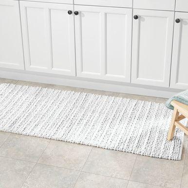 Braided Rectangular Bath Mat 60 Long Runner In 2020 Bathroom Rugs Long Bathroom Rugs Bath Rugs