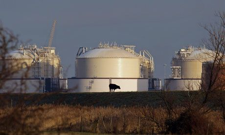 Energy suppliers held back gas during UK shortage  Terminals near London and in Wales were 40% and 52% full on the day it was claimed the UK had six hours' worth of gas left