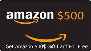 Get A Free 500 Amazon Gift Card Now Amazon Gift Card Free Gift Card Free Gift Cards Online