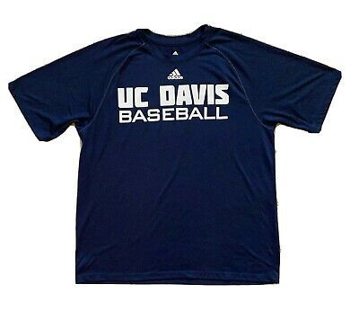 Details About Adidas Uc Davis Baseball Climalite Shirt Men S Large Blue Short Sleeve In 2020 Mens Shirts Shirts Blue Shorts