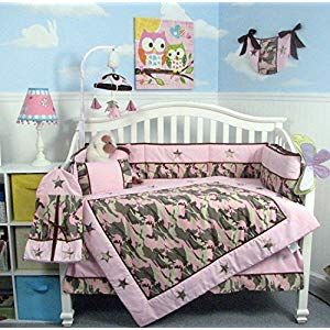 Soho Baby Crib Bedding 10pc Set Pinkcamo Crib Bedding Crib Bedding Sets Nursery Bedding Sets Crib Bedding Baby Crib Bedding