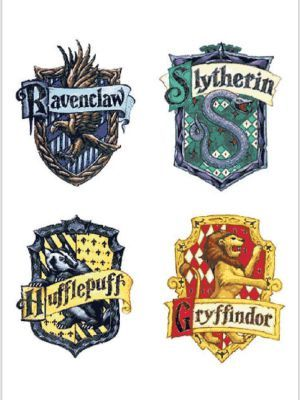 Your Hogwarts Bff Harry Potter Stickers Harry Potter Houses Harry Potter Painting