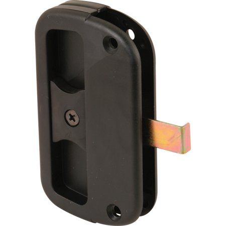 Black Plastic Sliding Screen Door Latch And Pull Alumilite Size