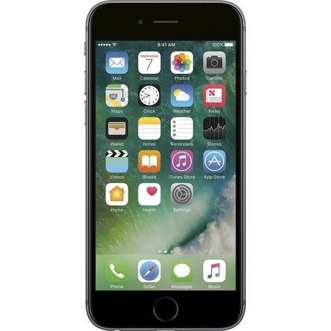 Apple Pre Owned Iphone 6s 4g Lte With 64gb Cell Phone Space Gray Iphone Apple Iphone Unlocked Phones
