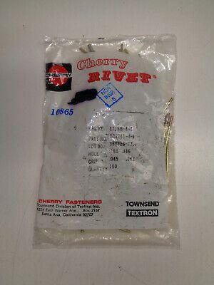 CHERRY RIVETS CR2248-4-5 100 EACH NEW
