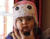Crochet Aviator Beanie by KraftyShack on Etsy, $22.99 USD