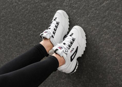 FILA Disruptor CB Low Wmn in weiss 1010604.00E | Fila