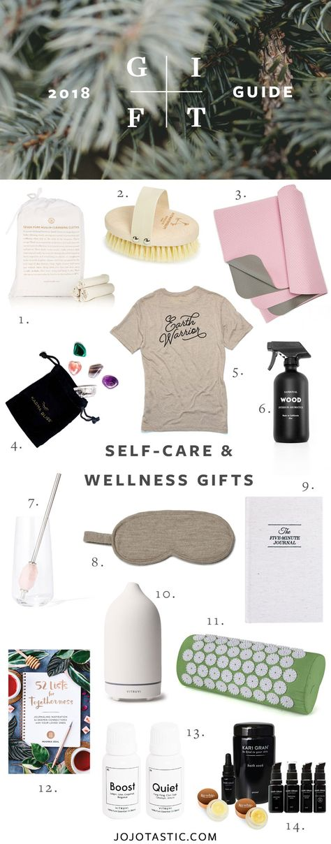 Self-Care and Wellness Gift Ideas, Gift Guide for Christmas