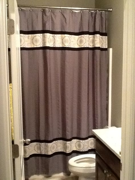 Long Length Shower Curtains Take A Standard Shower Curtain And