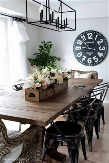 Image Result For Farmhouse Style Dining Diningtable Farmhouse