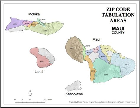 Maui Zip Codes Map Hawaiian Order Fulfillment Operation - Maui zip codes