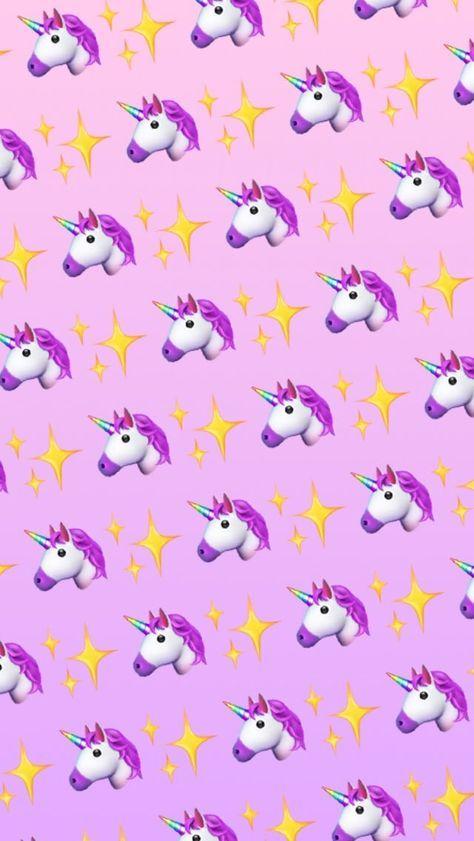 Unicorn Wallpaper Emoji Iphone Apple iphone wallpaper unicorn ungu